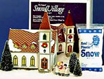 Snow Village Shady Oak Church 54623