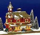 Snow Village Train Station 54380