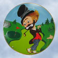 Red Skelton' Freddie On The Green Plate