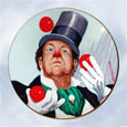 Red Skelton W.C. Fields plate